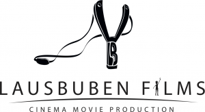 lausbuben logo schwarz-weis